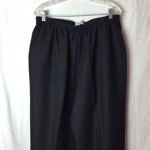 Alfred Dunner Black Pants 16W